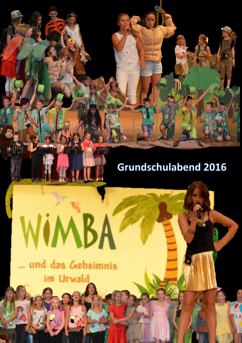 collage grundschulabend 2016